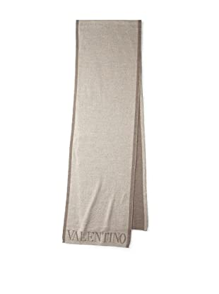 Valentino Women's Logo Knit Scarf, Tan