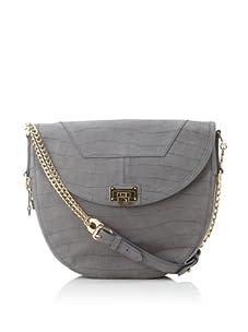 Rebecca Minkoff Women's Mara Front Lock Shoulder Bag, Slate