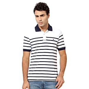 Cotton Slim Fit Tee for Men