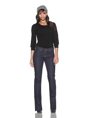 4 Stroke Women's East Filmore Mid-Rise Bootcut Jeans (Dub/Indigo Rinse)