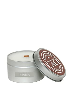 Cali Cosmetics 6-Oz. Regina Floral Travel Tin Candle