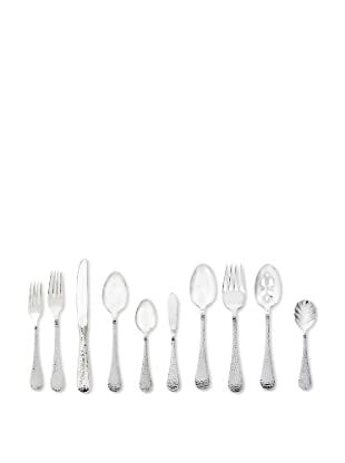 Wallace Continental Hammered 65-Piece Flatware Set
