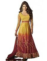 Prafful Silk Anarkali Priyanka chopra salwar-suit