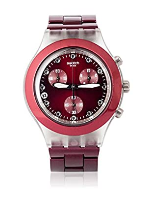 Swatch Quarzuhr Woman FULL-BLOODED BURGUNDY SVCK4054AG 43.0 mm
