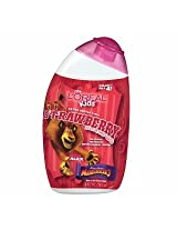 L'Oreal Kids Madagascar 3 Extra Gentle 2 - In - 1 Shampoo - Strawberry - Alex 9 Fl Oz - 265 Ml