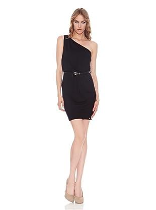 Salsa Vestido Asimétrico (Negro)