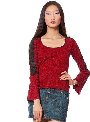 Custo Camiseta Peltre (Rojo)