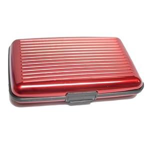 Filboy Alluminium Wallet Silver Red