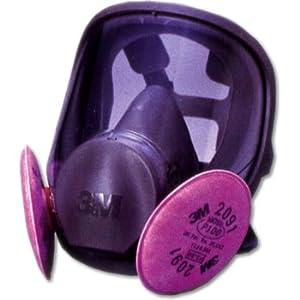 【クリックで詳細表示】3M 取替え式防じんマスク 6000F/2091-RL3 Mサイズ 6000F/2091-RL3M : 産業・研究開発用品