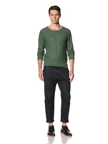 Camo Men's Vaglio Round Neck Pullover (Green)