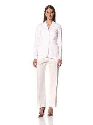 JIL SANDER Women's Cotton Blend Stretch Blazer