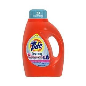 タイド 2倍濃縮 TIDE 液体洗剤 DOWNYタッチオブダウニーエイプリルフレッシュ柔軟剤入り 大容量 1470ML