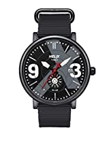 Helix Analog Black Dial Men's Watch - TW024HG04