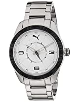 Puma Analog White Dial Women's Watch - PU102972001
