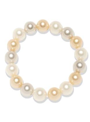 Perldor Armband Muschelkernperlen beige/zartrosé 60650082