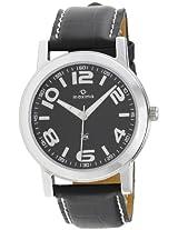 Maxima Attivo Analog Black Dial Men's Watch - 20985LMGI