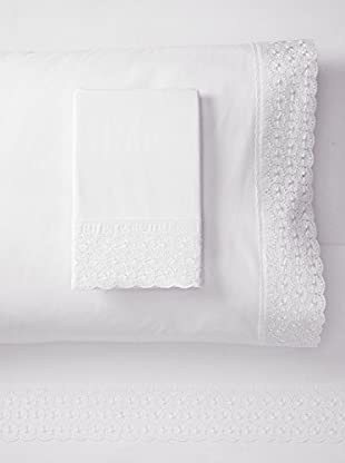 Westport Linens Emma Embroidered Sheet Set