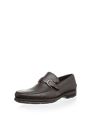 Salvatore Ferragamo Men's Arnaud 2 Loafer Slip-On (Brown)
