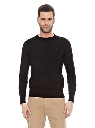 Bendorff Jersey Básico Cuello Redondo (Negro)