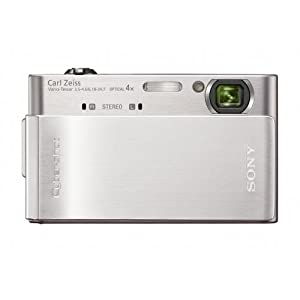 Sony Cyber-shot DSC-T900 12.1 MP Digital Camera with 4x Optical Zoom and Super Steady Shot Image Stabilization (Silver)