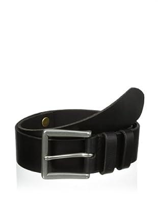John Varvatos Star USA Men's 40 mm Harness Buckle Belt (Black)