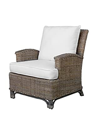 Panama Jack Exuma Lounge Chair With Cushions, Kubu Grey