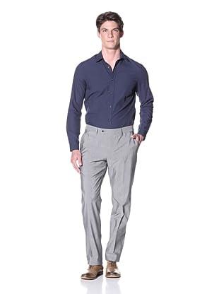 Lardini Men's Solid Trouser (Light Grey)