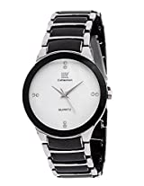 Iik Collection Analogue White Dial Men's Watch-Iik022M