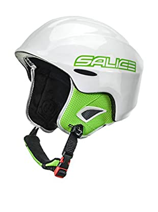 Salice Casco Kid Blanco / Verde