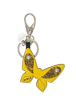 Furla Portachiavi Arcadia Farfalla giallo