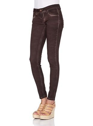 Pantalón Patricia (Marrón Oscuro)