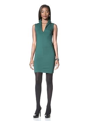 Catherine Malandrino Women's Sheath Dress with Open Back (Jade)