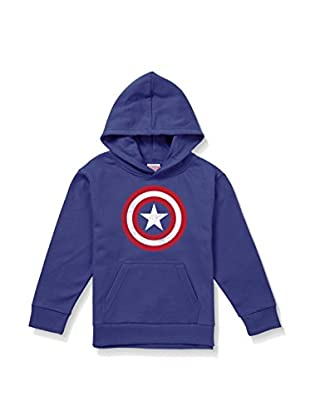 Marvel Kapuzensweatshirt Cpt. America Distress Logo