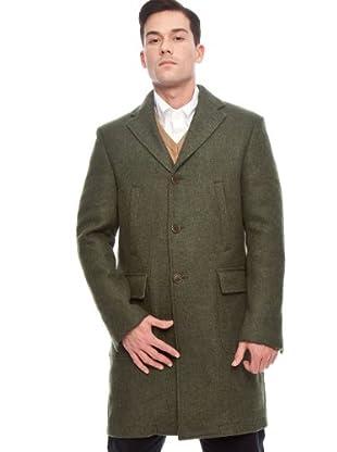 Hackett Abrigo Clásico (Verde)