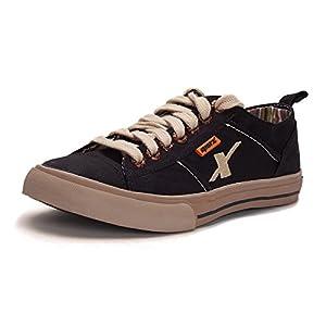 Sparx SM-130-BLACK-8 Canvas Sports Shoes