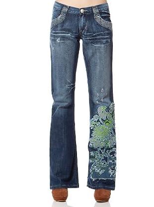 Custo Pantalón Mosh (Azul)