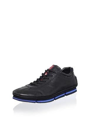 Prada Sport Men's Leather Sneaker (Black)