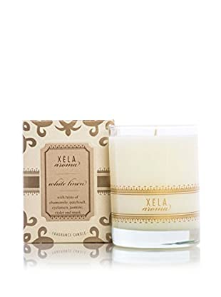 Xēla Aroma 14-Oz. Classic White Linen Candle