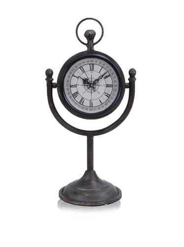 Industrial Chic Mantel Clock