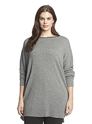 Cullen Plus Women's Cashmere Blanket Tunic Sweater