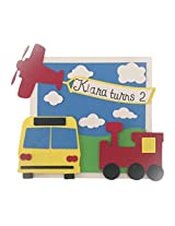 Transport Pullout Box Invitations -25 pack