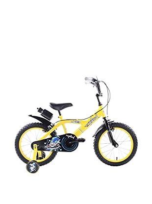 Schiano Cicli Bicicleta 14 Shark 01V. Amarillo