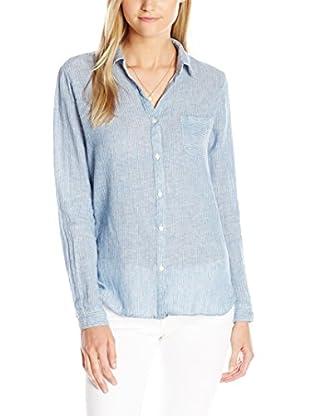 Maison Scotch Camicia Donna Azzurro IT 44 (DE 38)