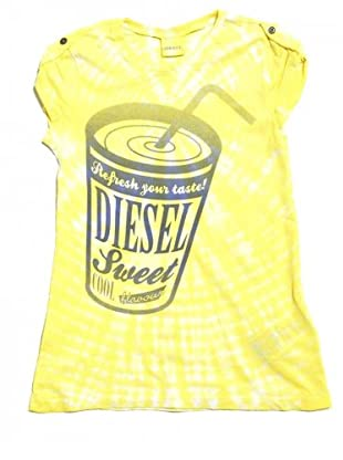 Diesel Kid T-Shirt Temer (Gelb)