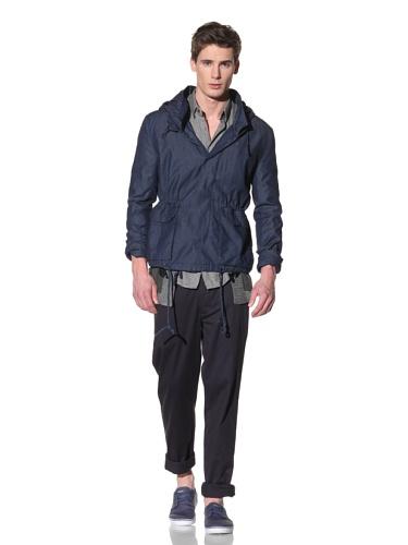 Fremont Men's Dorn Hooded Light Jacket (Light Denim)