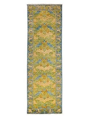 Darya Rugs Arts & Crafts Rug, Light Blue, 2' 7