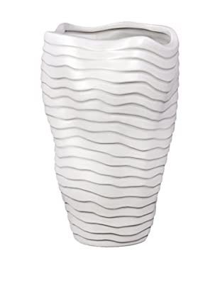 Large Ceramic Vase, Grey