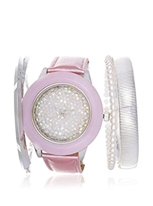 Arm Candy Women's NXS5292PU-P Purple/White Stainless Steel/Leather Watch