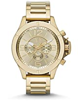 Armani Exchange Gold-Tone Mens Watch Ax1504
