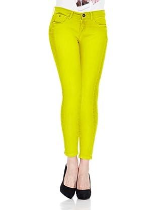 Pepe Jeans London Pantalón Twizzle (Amarillo Oscuro)